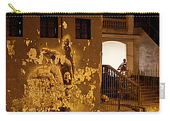 Carry-all Pouch featuring the photograph Avenue De Los Presidentes Havana Cuba by Charles Harden
