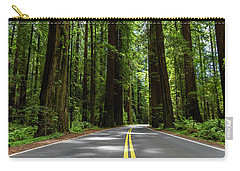Avenue Of Giants Carry-all Pouch