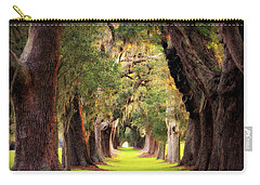 Avenue Of Oaks Sea Island Golf Club St Simons Island Georgia Art Carry-all Pouch
