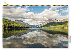 Avenue To The Mountains Carry-all Pouch by Alex Lapidus