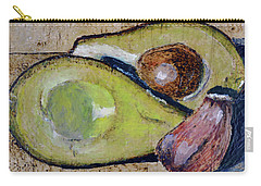 Avocado And Garlic Carry-all Pouch