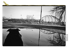 Carry-all Pouch featuring the photograph Awaiting Opening Day by Jeanette O'Toole