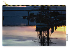Awaiting The Tide Carry-all Pouch by Mark Alder