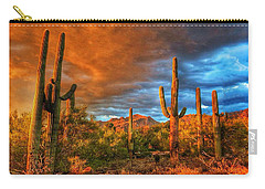Awaitng The Monsoon Carry-all Pouch