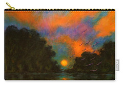 Awaken The Dream Carry-all Pouch by Alison Caltrider