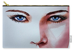 Carry-all Pouch featuring the painting Awakening by Michal Madison