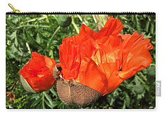 Awakening Poppy Carry-all Pouch