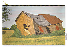 Carry-all Pouch featuring the painting Award-winning Original Acrylic Painting - Now I Lay Me Down To Sleep by Norm Starks