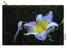 Carry-all Pouch featuring the photograph Awesome Daylily by Tom Singleton