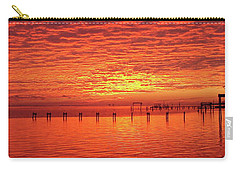 Awesome Santa Rosa Sunset Colors Panoramic Carry-all Pouch