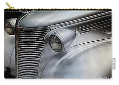 Carry-all Pouch featuring the painting Awesome Silver Grill by Tom Riggs