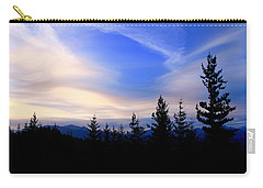 Awesome Sky Carry-all Pouch by Susan Crossman Buscho