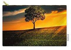 Awesome Solitude II Carry-all Pouch by Bess Hamiti