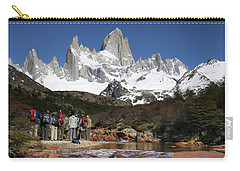 Carry-all Pouch featuring the photograph Awestruck by Gary Hall