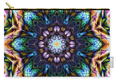 Carry-all Pouch featuring the digital art Awestruck by Kiki Art