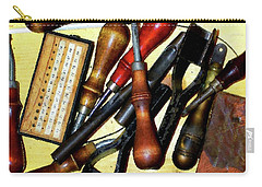 Awls And Punches Carry-all Pouch by Timothy Bulone