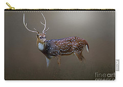 Carry-all Pouch featuring the photograph Axis Deer by Marion Johnson