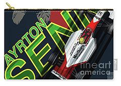 Ayrton Senna Carry-all Pouch by Sassan Filsoof