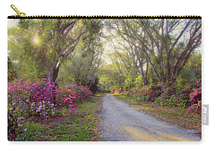 Azalea Lane By H H Photography Of Florida Carry-all Pouch