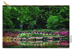 Azalea Pond Carry-all Pouch by Tamyra Ayles