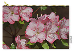 Carry-all Pouch featuring the photograph Azalea by Sandy Keeton