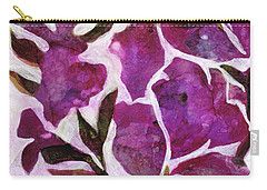 Carry-all Pouch featuring the painting Azaleas by Julie Maas