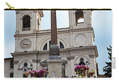 Azaleas On The Spanish Steps In Rome Carry-all Pouch