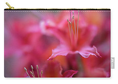 Azaleas Soft Flowers Details Carry-all Pouch by Mike Reid