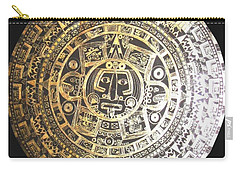 Aztec Calendar Carry-all Pouch