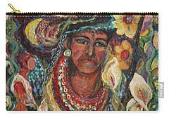 Aztec Garden Carry-all Pouch