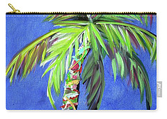 Azul Palm Carry-all Pouch by Kristen Abrahamson