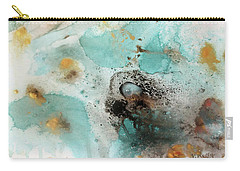 Azure Waters By V.kelly Carry-all Pouch