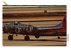 Carry-all Pouch featuring the photograph B-17 Bomber by Dart Humeston