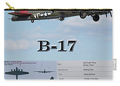 Carry-all Pouch featuring the photograph B 17 by Geraldine DeBoer
