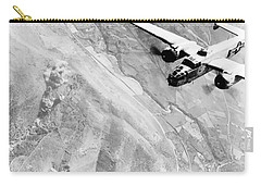 B-25 Bomber Over Germany Carry-all Pouch