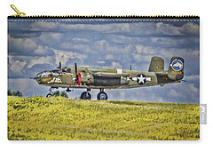B-25 Landing Akron/canton Ohio Carry-all Pouch