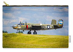 B-25 Landing Original Carry-all Pouch