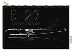 B-29 Superfortress Carry-all Pouch by David Collins