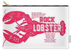 B-52s Rock Lobster Lyric Poster Carry-all Pouch