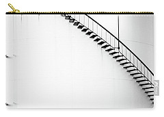 B And W Stairs Carry-all Pouch