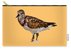 Carry-all Pouch featuring the digital art B Bird by Francesca Mackenney