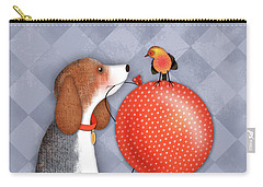 B Is For Beagle Carry-all Pouch