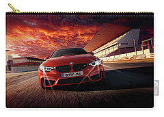 B M W  M 4 Carry-all Pouch by Movie Poster Prints