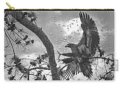 Carry-all Pouch featuring the photograph B3 Landing by Geraldine DeBoer