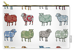 Baa Humbug Carry-all Pouch by Sarah Hough