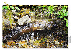 Babbling Brook Carry-all Pouch by Janie Johnson