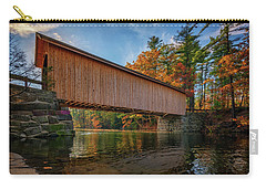 Carry-all Pouch featuring the photograph Babb's Bridge by Rick Berk