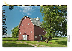 Carry-all Pouch featuring the photograph Babcock Barn 2259 by Guy Whiteley