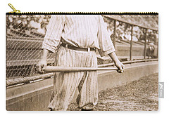 Babe Ruth On Deck Carry-all Pouch