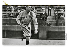 Babe Ruth - Pitcher Boston Red Sox  1915 Carry-all Pouch by Daniel Hagerman